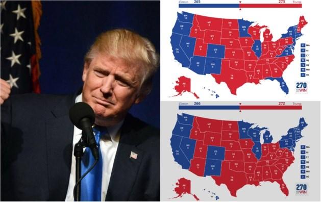 In deze drie scenario's kan Trump toch nog president worden