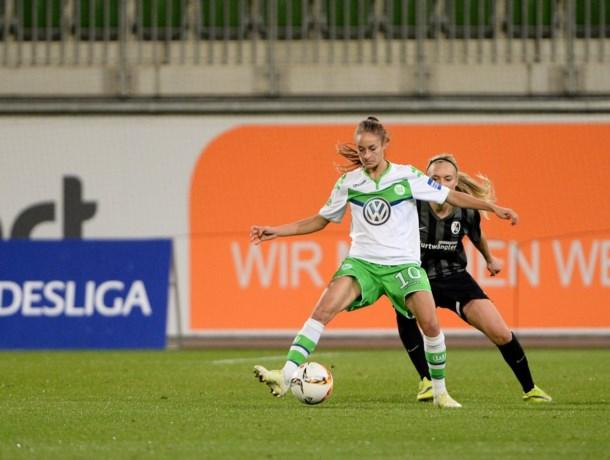 Tessa Wullaert zet met Wolfsburg reuzenstap richting kwartfinales Champions League