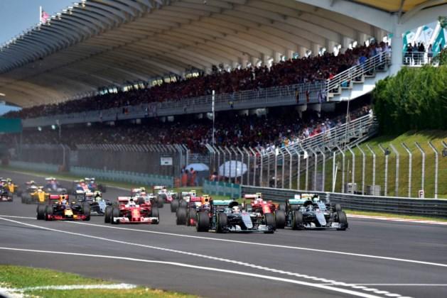 Wie rijdt waar tijdens het F1-seizoen 2017?