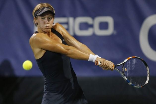 An-Sophie Mestach stoot door in dubbelspel op IFT-toernooi