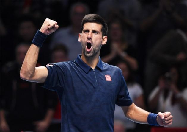 Titelhouder Djokovic opent op World Tour Finals met winst tegen Thiem