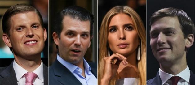 """""""Kinderen van Trump mogen niet in regering zetelen"""""""