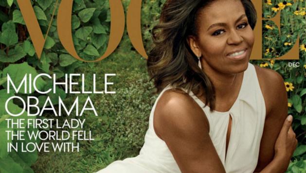 De allerlaatste Vogue cover van Michelle Obama als First Lady