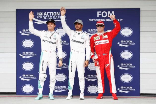 GP van Brazilië: startgrid