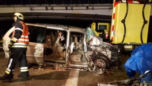 E34 richting Antwerpen afgesloten door ongeval in Oud-Turnhout