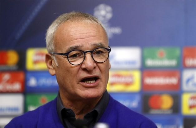 """Leicester-coach Ranieri: """"Ik begrijp niet dat Club Brugge maar nul punten heeft"""""""