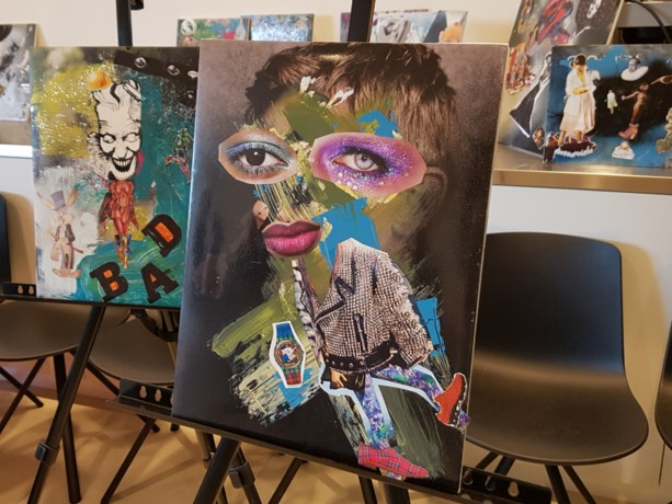 Kunst in het Agnetencollege