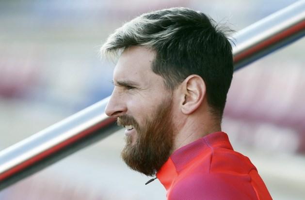 Barcelona kan tegen Celtic rekenen op herstelde Messi
