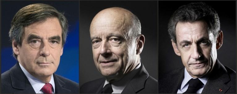 Juppé verklaart strijd met Fillon geopend, Sarkozy uitgeschakeld