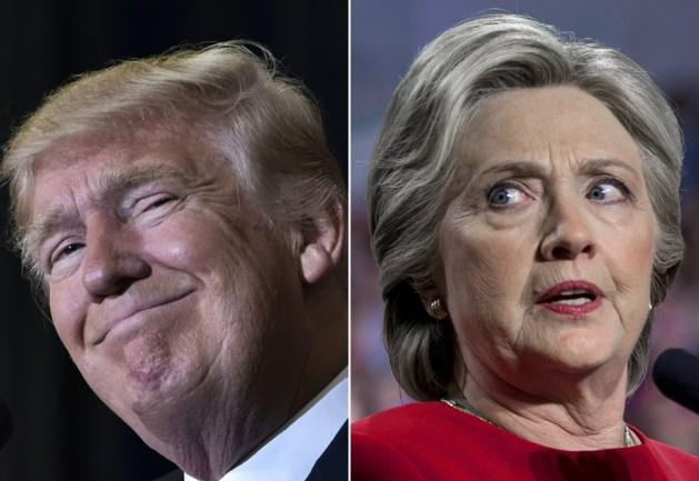 Nooit zo'n groot verschil: Clinton kreeg 2 miljoen meer stemmen dan Trump