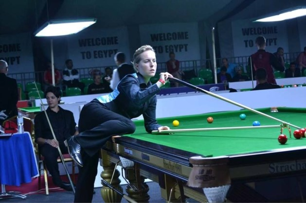 Titelverdedigster Wendy Jans blijft foutloos op WK snooker in Qatar
