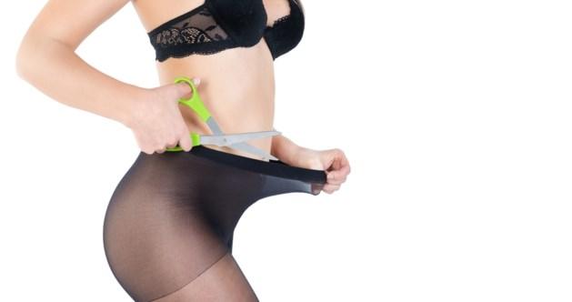Zo kan je panty's ook dragen, als je durft