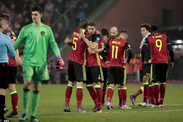 Rode Duivels leveren opnieuw plaatsje in op FIFA-ranking