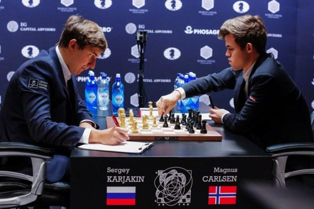Verrassende Rus behoudt voorsprong op WK schaken