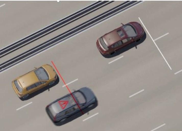 Nieuwe flitspaal ziet of je belt achter het stuur