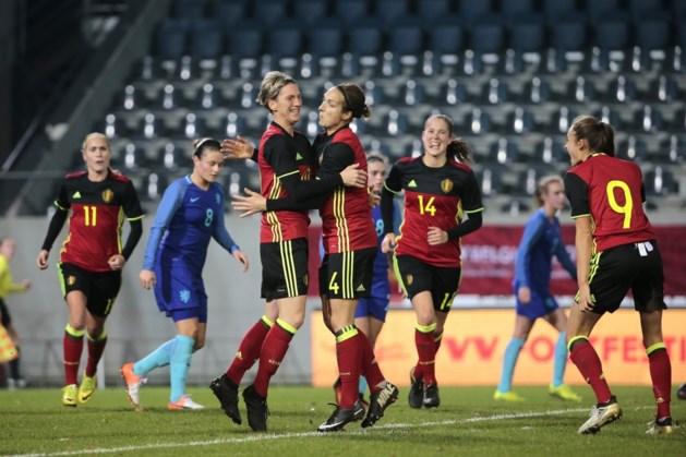 Red Flames in oefenduel te sterk voor Nederland