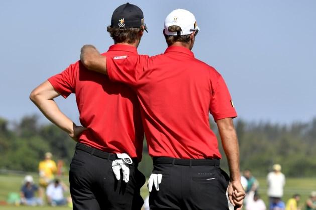 Belgen openen World Cup of Golf op tiende plaats