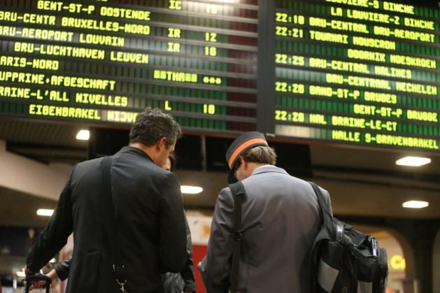 Treinverkeer in Brussel hervat