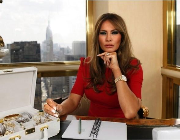 Deze ontwerper wil Melania Trump wel kleden