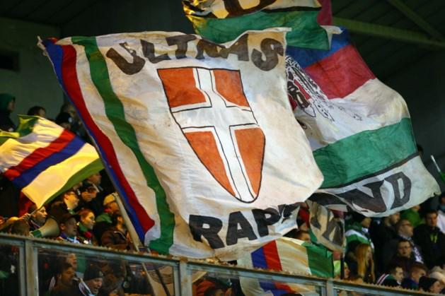 Honderden Rapid-fans maken omweg via Winterland