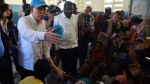 VN-topman excuseert zich voor cholera-uitbraak in Haïti
