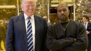 Kanye West op audiëntie bij Trump