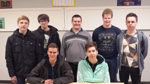 Topondernemers bezoeken Technisch Heilig-Hartinstituut