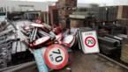 Plots 120 per uur in Genk door foutief verwijderde 70-borden