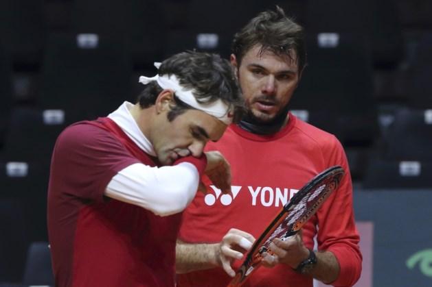 Federer en Wawrinka passen voor duel tegen Verenigde Staten