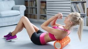 De foam roller is nu al de fitnesstrend van het jaar