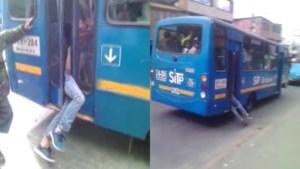 Man steelt gsm in bus, maar daar steekt de chauffeur een stokje voor