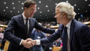 """Rutte zet puntjes op de i: """"Geert NUL procent. Het. Gaat. Niet. Gebeuren"""""""