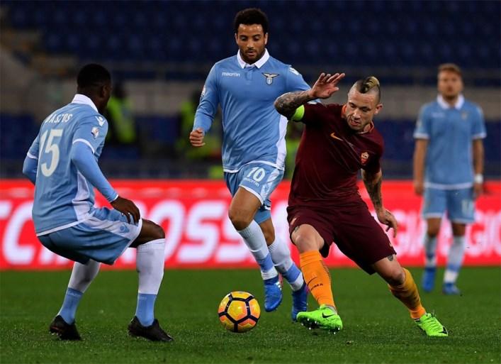 Nainggolan verliest Romeinse derby van Lukaku in Coppa Italia