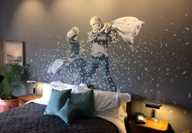 Banksy opent hotel in Palestina