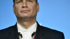 Nu is hij nog president van Ecuador, maar binnenkort komt hij in België wonen