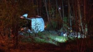 Bestuurder van bestelwagen die met 14 illegalen crashte op Brusselse ring is minderjarig