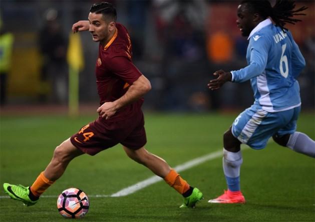 Jordan Lukaku staat met Lazio in finale Coppa Italia na nipt verlies tegen Roma van Nainggolan