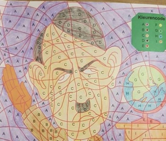 Kruidvat stopt verkoop kleurboek met Hitler