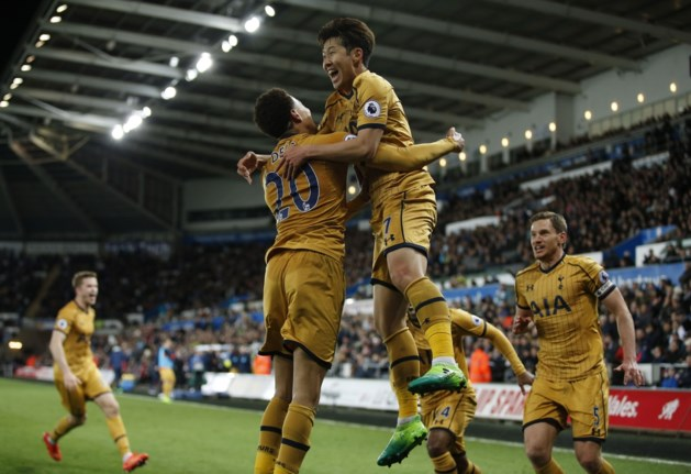 Tottenham maakt onwaarschijnlijke comeback, Liverpool doet slechte zaak