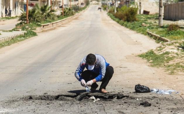 """""""Slachtoffers gifgasaanval Syrië aan minstens 2 verschillende chemische stoffen blootgesteld"""""""