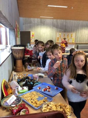 Leerlingen dol op multiculturele 'Vriendschapsdag'