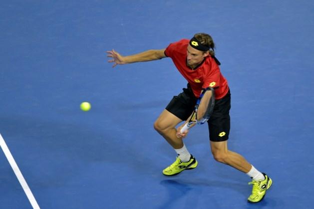 De Loore verliest overbodige Davis Cup-match tegen Giannessi
