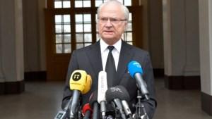 Belgisch koningshuis betuigt medeleven aan koning Carl Gustaf
