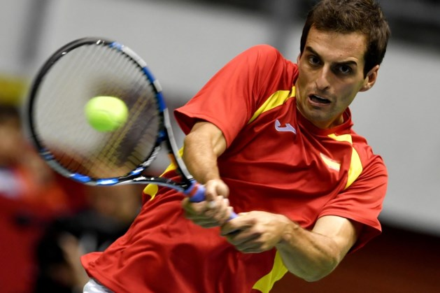 Ramos-Vinolas redt eer voor Spanje in Davis Cup-nederlaag tegen Servië