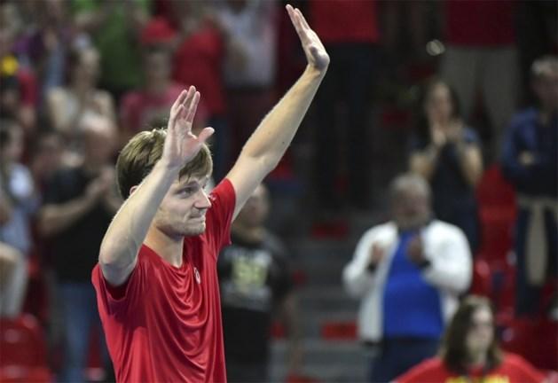 Goffin schenkt Belgen zege in Davis Cup