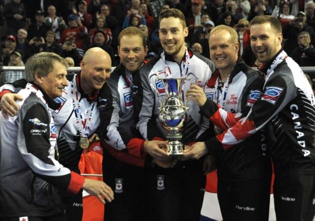 Canadese mannen blijven wereldkampioen in het curling