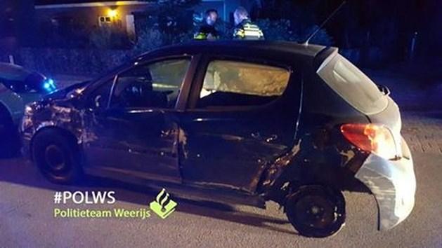Dronken bestuurder slaagt erin met dit wrak verder te rijden in Breda
