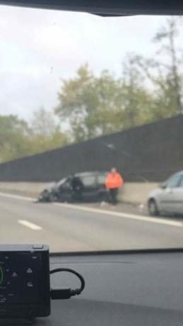 Chauffeur gewond bij ongeval op E313  ter hoogte van Hasselt -West