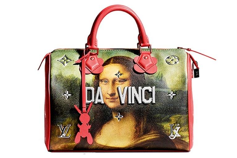 Kunstenaar Jeff Koons steekt handtassen Louis Vuitton in nieuw jasje
