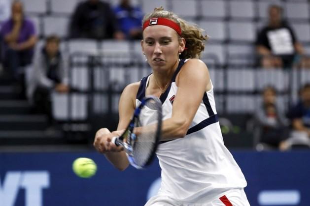 Elise Mertens stoomt door naar kwartfinales op WTA Biel